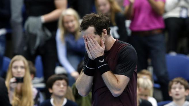 Andy Murray no pudo contener las lágrimas tras volver a ganar un torneo.
