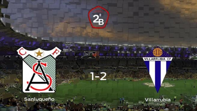 El Villarrubia gana en El Palmar al At. Sanluqueño (1-2)