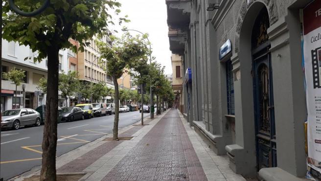 Avenida de Portugal de Logroño