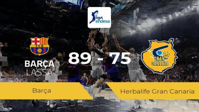 Barça 89 - 75 Herbalife Gran Canaria