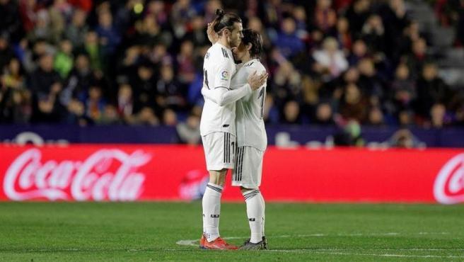 Gareth Bale y Luka Modric.