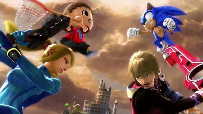 Personajes de 'Smash Bros. Ultimate'.