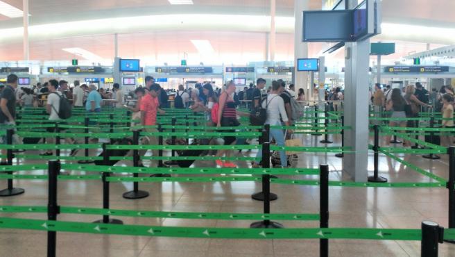 Imagen de archivo de un aeropuerto.