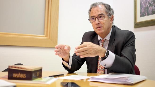 Enrique Ossorio, consejero de Educación y Juventud de la Comunidad de Madrid.