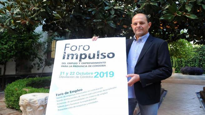 El delegado de Empleo en la Diputación de Córdoba, Miguel Ruz