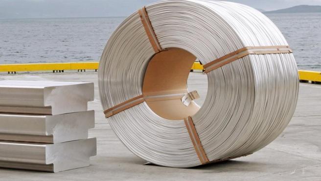 Recurso de aluminio.