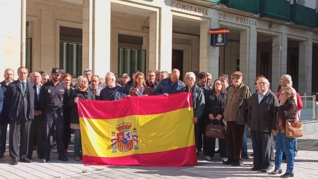Sindicatos policiales reclaman en Vitoria 'más medios' para actuar ante el 'terrorismo callejero' de Cataluña