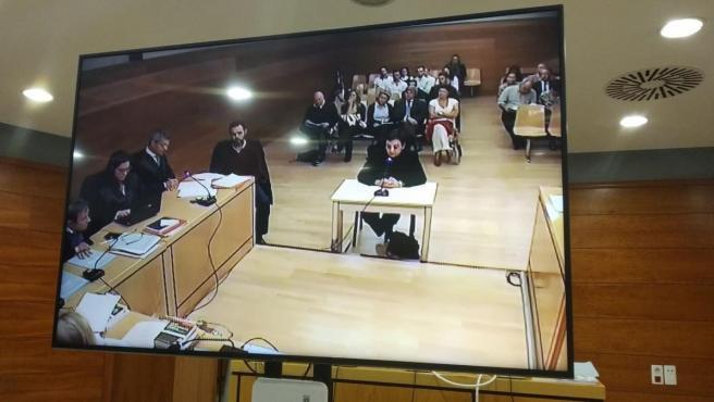 La asistenta del 'cuerpo de la casa' de los Sala declara por la muerte de Maria del Carmen Martínez.