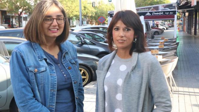 Carmen María Ruiz y Martina Velarde en Córdoba.