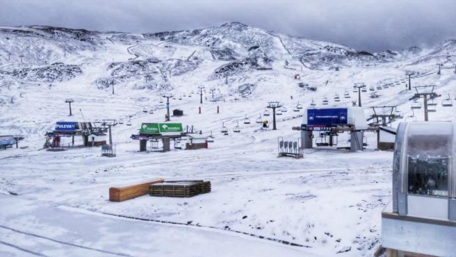 Primeras nevadas de otoño en Sierra Nevada