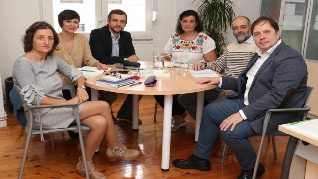 Una delegación del Patronato de Escuelas Infantiles (PMEI) de Palma de Mallorca ha visitado el Organismo Autónomo de Escuelas Infantiles de Pamplona.