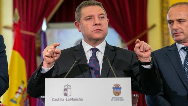 El presidente regional, Emiliano García-Page.