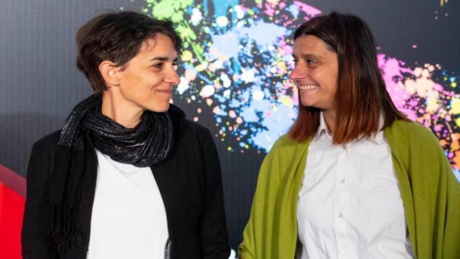 Las directoras búlgaras Mina Mileva y Vesela Kazakova en la Seminci.