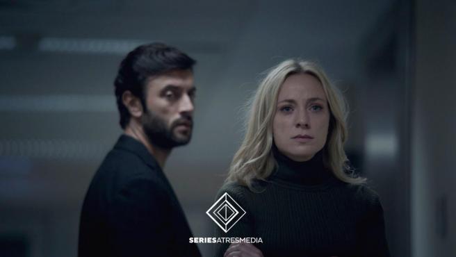 Javier Rey y Ángela Cremonte en Mentiras