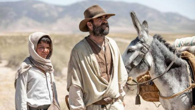 Imagen de la película 'Interperie', protagonizada por Luis Tosar.