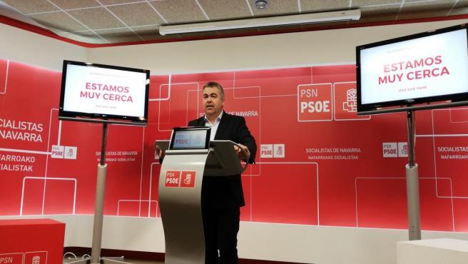 Santos Cerdán, cabeza de lista del PSN al Congreso de los Diputados