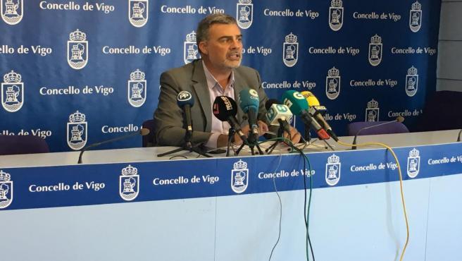 El portavoz del Grupo Municipal Popular, Alfonso Marnotes.