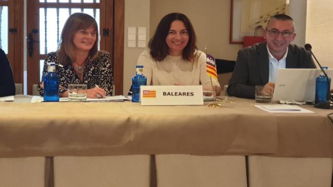 La delegada de Presidencia para la Cultura, Catalina Solivellas, en Cuenca