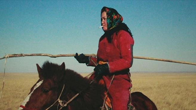 Fotograma de la película Öndög, de Wang Quan'an.
