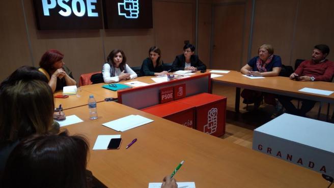 Reunión del PSOE con la asociación Vida de Mujeres Viudas y Madres de Hijas o Hijos Huérfanos