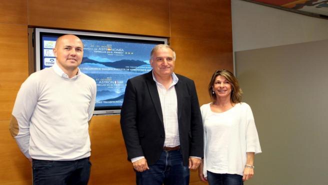 Presentación de las XIX Jornadas 'Estrellas en el Pirineo'.