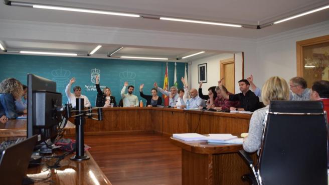 Pleno extraordinario de Piélagos en el que se ha aprobado de forma inicial el presupuesto de 2019