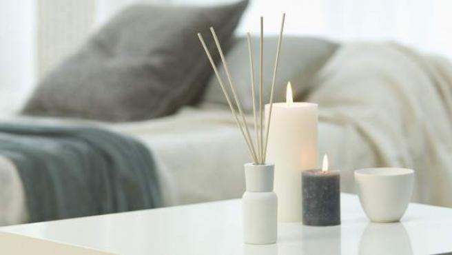 Incienso y velas aromáticas.