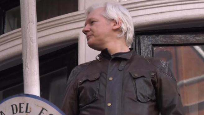 Imagen de archivo de Julian Assange.