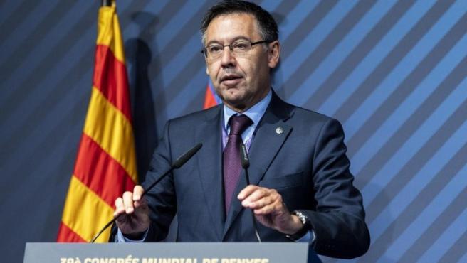 Fútbol.- Bartomeu: 'A estas alturas el Barça no habla de jugadores'