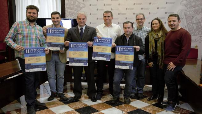 Presentación de un congreso sobre Wordpress que acogerá Granada