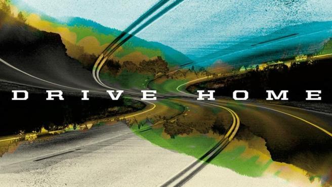 Carátula del último trabajo de Amann & The Wayward Sons, 'Drive Home'