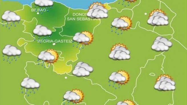 Previsiones meteorológicas para el 23 de octubre en Bilbao.