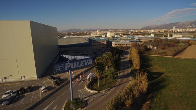 Fábrica de Lactalis-Puleva en Granada