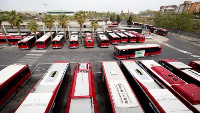 Flota d'autobusos de l'EMT