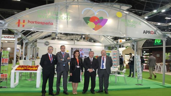 Expositor de Hortiespaña y Aproa en Fruit Attraction
