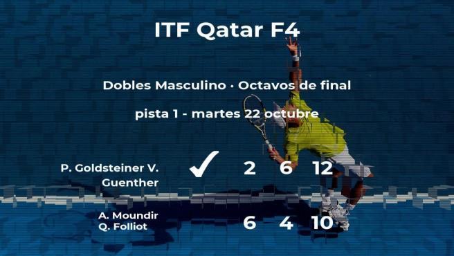 Moundir y Folliot quedan eliminados en los octavos de final del torneo de Doha