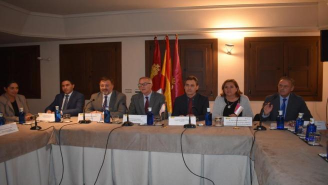 El Consejo de Patrimonio Histórico reunido en Cuenca