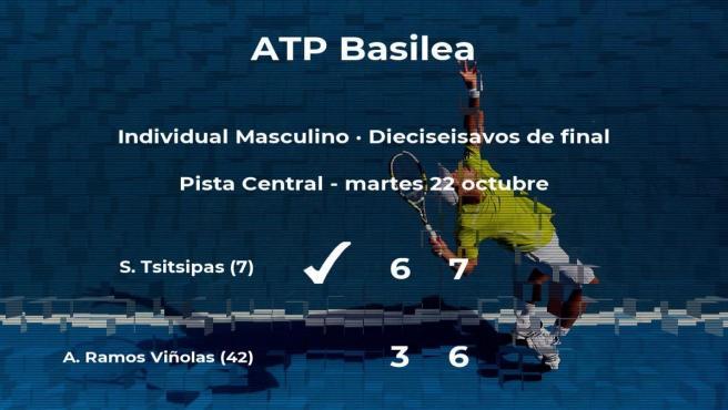El tenista Albert Ramos Viñolas cae eliminado en los dieciseisavos de final del torneo ATP 500 de Basilea