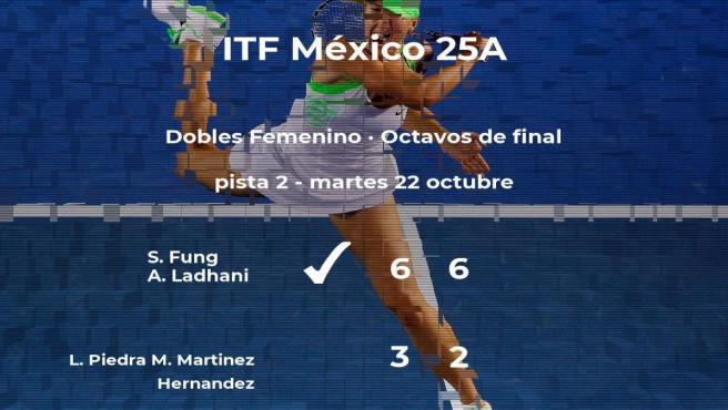 Piedra y Martinez Hernandez se despiden del torneo de Metepec