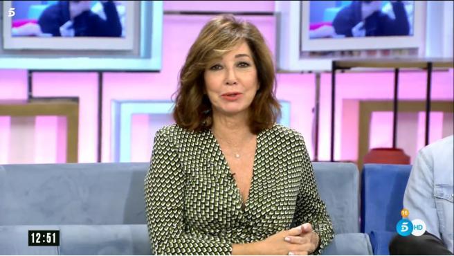 Ana Rosa Quintana, comenta la actualidad de 'Gran Hermano' en su programa