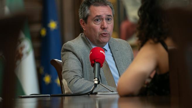 El alcalde de Sevilla, el socialista Juan Espadas