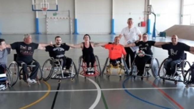 El rugby en silla de ruedas llega este sábado a Alcalá de Guadaíra