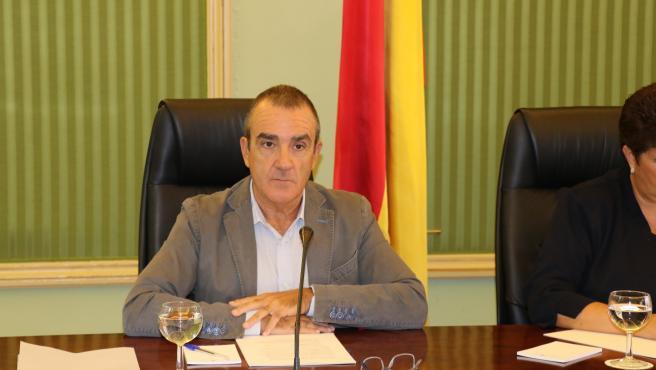 El vicepresidente y conseller de Transición Energética y Sectores Productivos, Juan Pedro Yllanes.