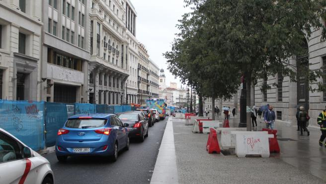 Calle del entorno del complejo de Canalejas