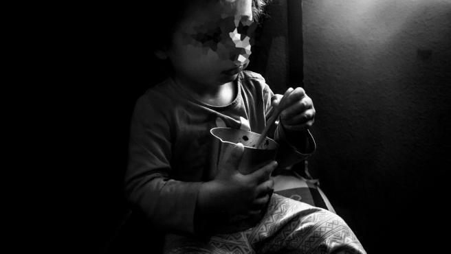 Uno de los niños atendidos por Save The Children.