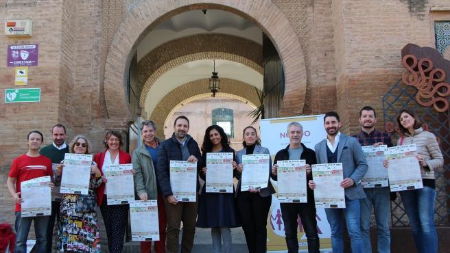 Presentación de la VII Feria de Italica en Sevilla