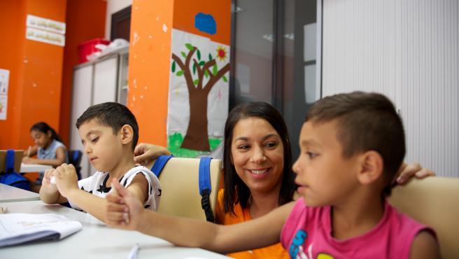 La Fundació La Caixa apoya a niños de familias con problemas económicos.