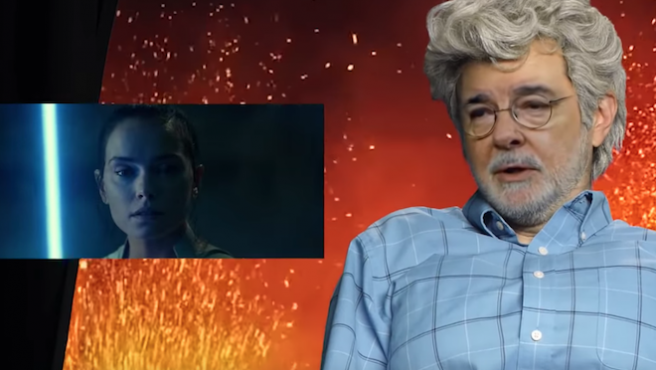 Vídeo: Este NO es George Lucas criticando 'El ascenso de Skywalker'