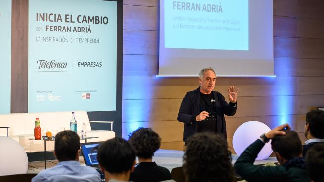 Ferran Adrià participa en la Jornada de Innovación y Transformación Digital