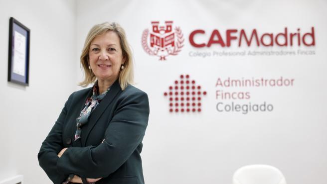 Isabel Bajo, presidenta del Colegio de Administradores de Fincas de Madrid